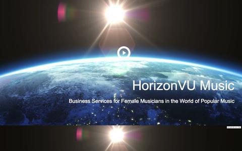 Screenshot of Terms Page horizonvumusic.com captured July 24, 2015