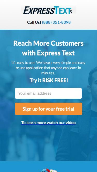 ExpressText.net | SMS Marketing