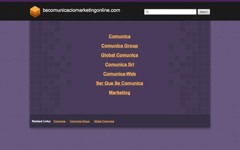 Bscomunicaciomarketingonline.com