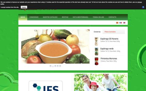 Screenshot of Home Page Privacy Page bajamar-mamia.com - .: Bajamar Mamia :. - captured March 4, 2016