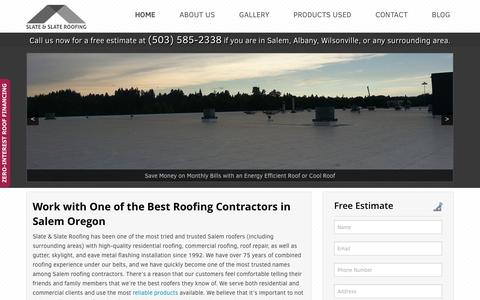 Roofing Contractors in Salem Oregon | Slate & Slate Roofing