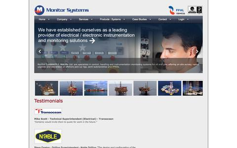 Screenshot of Testimonials Page monitor-systems-engineering.com - Monitor Systems Engineering, Testimonials - captured Oct. 9, 2014