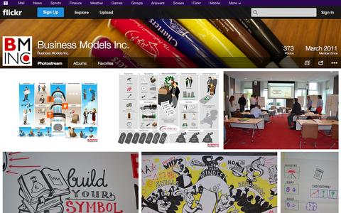 Screenshot of Flickr Page flickr.com - Flickr: Business Models Inc.'s Photostream - captured Oct. 23, 2014