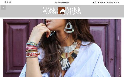 Screenshot of Home Page pedradura.net - Pedra Dura - captured July 16, 2018