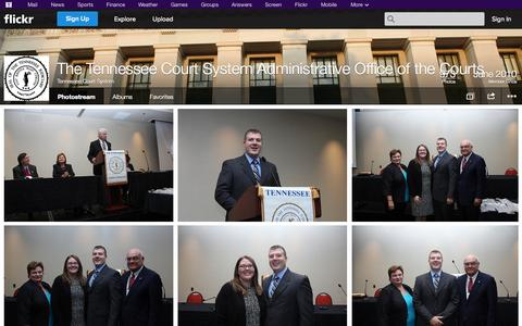 Screenshot of Flickr Page flickr.com - Flickr: Tennessee Court System's Photostream - captured Oct. 22, 2014
