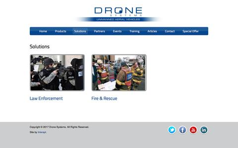 Solutions | Drone Systems