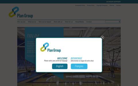 Screenshot of Case Studies Page plan-group.com - Case Studies | Plan Group - captured Dec. 9, 2015