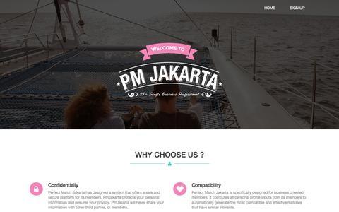 Screenshot of About Page Privacy Page pmjakarta.com - Why Us          | PM Jakarta - captured Nov. 1, 2014