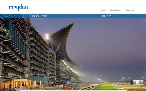 Screenshot of Jobs Page meydan.ae - Careers | Meydan - captured Sept. 23, 2014