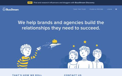 Screenshot of About Page buzzstream.com - About BuzzStream - the CRM for Content Marketing, PR and Link Building - captured June 21, 2018