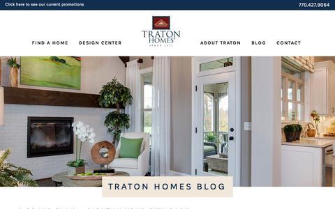 Screenshot of Blog tratonhomes.com - Blog - Traton Homes - captured April 25, 2018