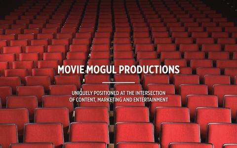 Screenshot of Home Page moviemogul.tv - Movie Mogul - captured Sept. 30, 2014