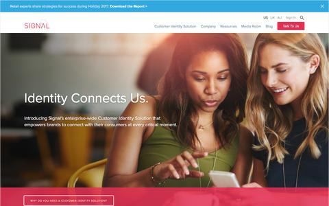 Customer Engagement Marketing | Identity Resolution | Real-Time Marketing | Signal
