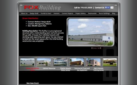 Screenshot of Case Studies Page foxbuilding.co - Project Gallery | Fox Building Company - captured Oct. 6, 2014