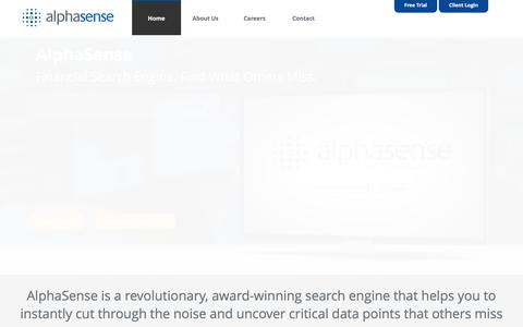 AlphaSense - The Financial Search Engine