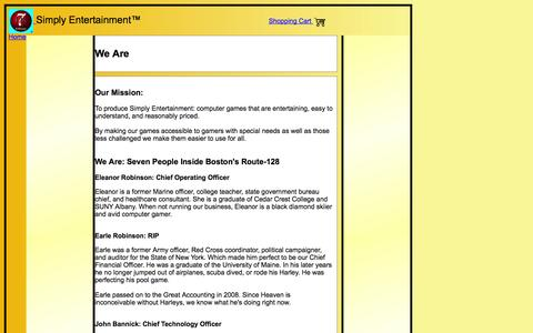Screenshot of About Page 7128.com - 7-128 Software - About - captured Oct. 7, 2014
