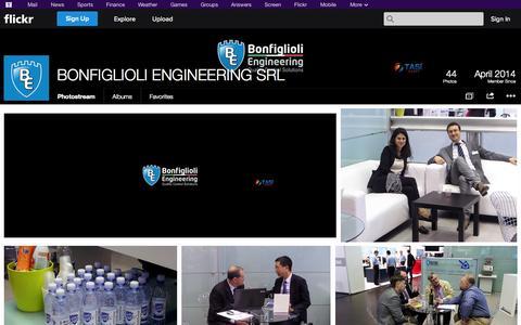 Screenshot of Flickr Page flickr.com - Flickr: BONFIGLIOLI ENGINEERING SRL's Photostream - captured Oct. 23, 2014