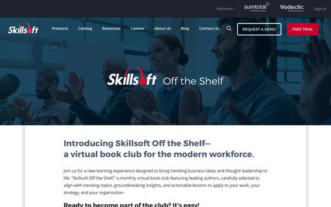 Skillsoft Off the Shelf