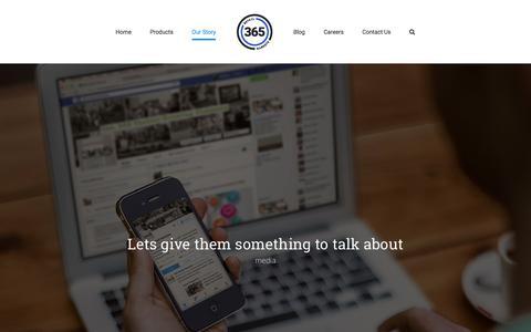 Screenshot of Press Page 365retailmarkets.com - 365 Retail Markets Media - captured Sept. 21, 2019
