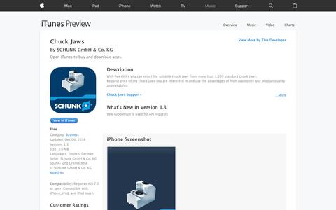 Chuck Jaws on the App Store