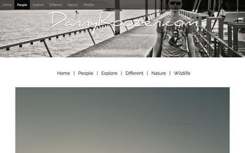 Screenshot of Team Page dannyroozen.com - People – DannyRoozen.com - captured Oct. 12, 2017