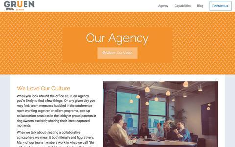 Screenshot of Team Page gruenagency.com - Gruen Agency | A Digital Marketing Agency - captured Dec. 15, 2015