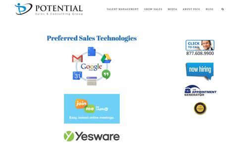 Preferred Sales Technologies – Potential Sales and Consulting Group