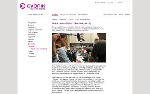 New York 4 - Evonik Industries - Specialty Chemicals