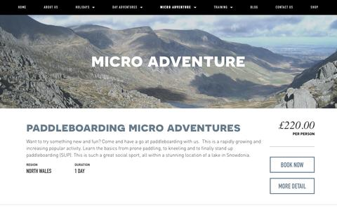 Micro Adventure — Psyched Adventures