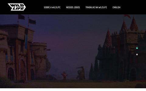 Screenshot of Home Page Privacy Page wildlifestudios.com - Wildlife - captured Oct. 11, 2019
