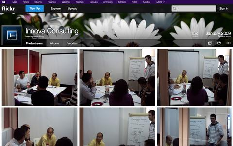 Screenshot of Flickr Page flickr.com - Flickr: innovayconsulting's Photostream - captured Oct. 23, 2014