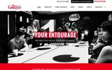 New Screenshot Agency Entourage Home Page