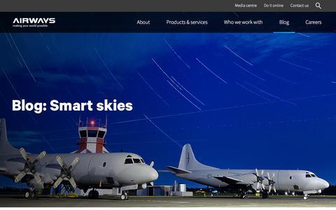 Screenshot of Blog airways.co.nz - Blog | Airways - captured Feb. 5, 2016