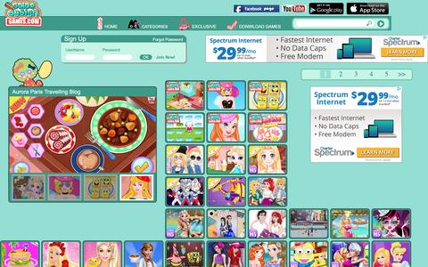 Screenshot of Home Page colordesigngames.com - Design Games| Free Girl Games| Free Online Games For Girls| The Home of Design Games Lovers - captured Aug. 27, 2016