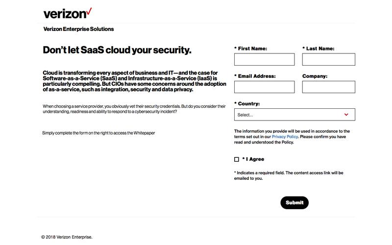 Don't let SaaS cloud your security. Whitepaper