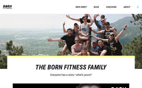 Testimonials Archive - Born Fitness