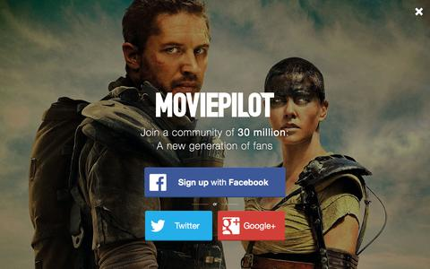 Screenshot of Login Page moviepilot.com - A New Generation of Fans | moviepilot.com - captured Dec. 23, 2015