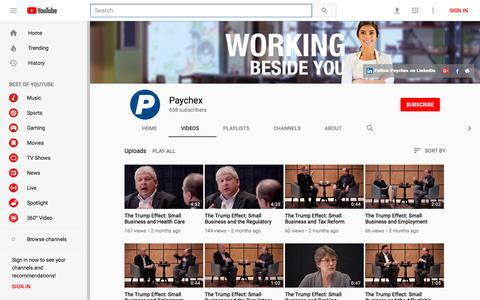 Paychex - YouTube - YouTube