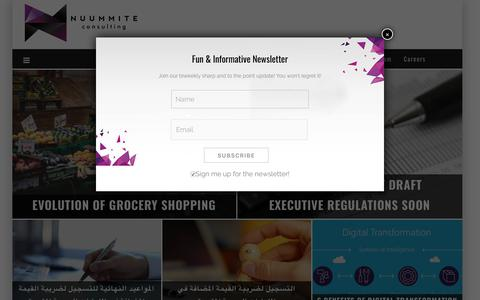 Screenshot of Home Page nuummite.consulting - Business Consultants | Management Consulting for Businesses & Startup - Nuummite.consulting - captured Nov. 13, 2017