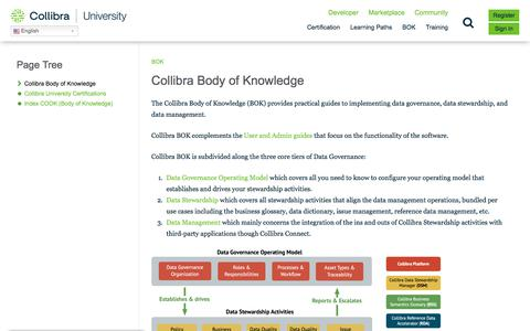 Screenshot of Case Studies Page collibra.com - BOK Records – Collibra University - captured Feb. 12, 2020