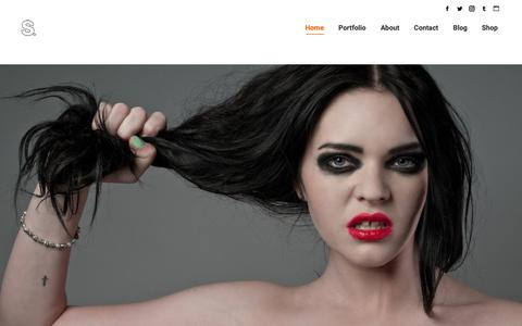 Screenshot of Home Page shawncollie.com - Shawn Collie Photography – Shawn Collie is a portrait photographer based in Austin Texas who specializes in fine art portraiture with a boudoir influence, fashion, editorial, and commercial photography. - captured Oct. 18, 2018