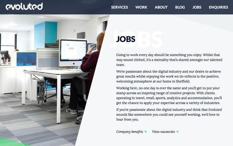 Web Development Jobs & Digital Marketing Jobs Sheffield