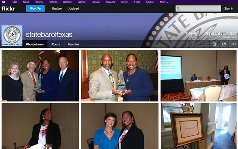Screenshot of Flickr Page flickr.com - Flickr: statebaroftexas' Photostream - captured Oct. 26, 2014