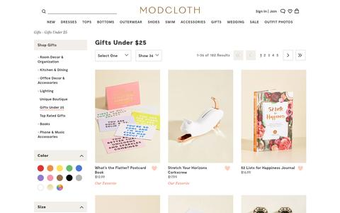 Gifts Under $25 | ModCloth