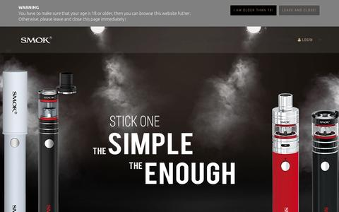 SMOK® Being with you for all great vaping time!