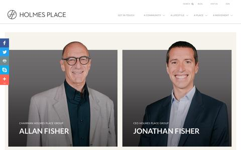 Screenshot of Team Page holmesplace.com - Meet the Holmes Place Team   Fitness, Nutrition, Spa - captured May 21, 2017