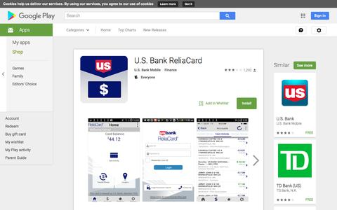 U.S. Bank ReliaCard - Android Apps on Google Play