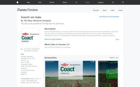 Coact® em Ação on the App Store