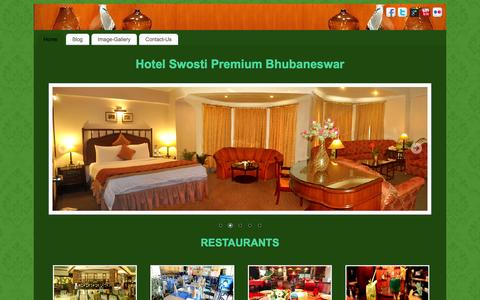 Screenshot of Blog swostipremium.com - Swosti Premium Hotel | Hotels in Bhubaneswar | Hotels in odisha | Restaurants in Bhubaneswar - captured May 3, 2016