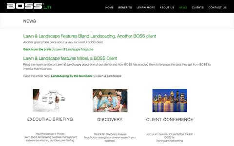 News | BOSS Landscape Management Software